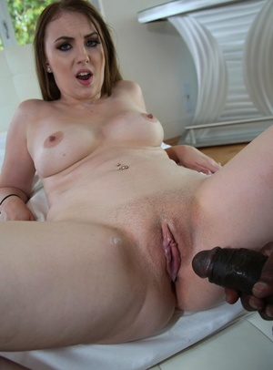 Thick bitch worships and rides a giant black shaft in an interracial POV gig