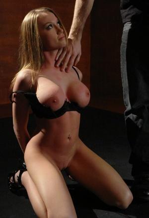 Busty slut Madison Scott gets brutally fucked by her master James Deen